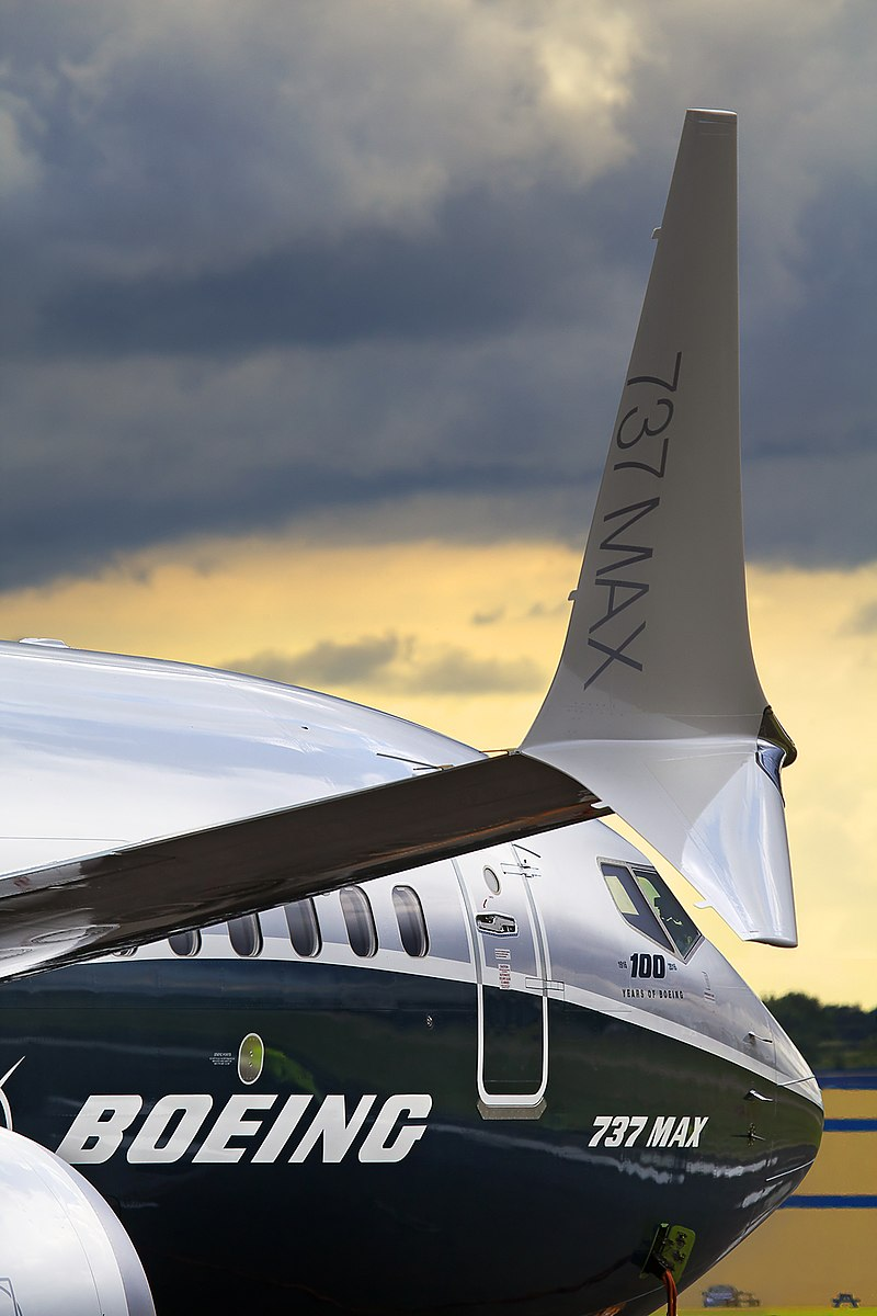 Novo winglet de ponta dupla da Boeing no 737 MAX (Oleg V. Belyakov / Wikimedia)