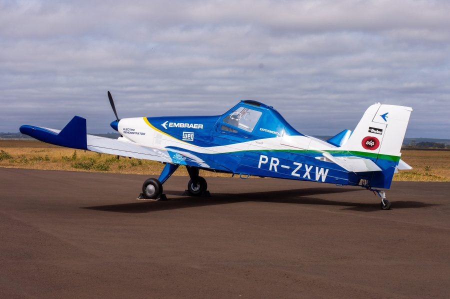 Embraer e EDP se unem na pesquisa do avião elétrico