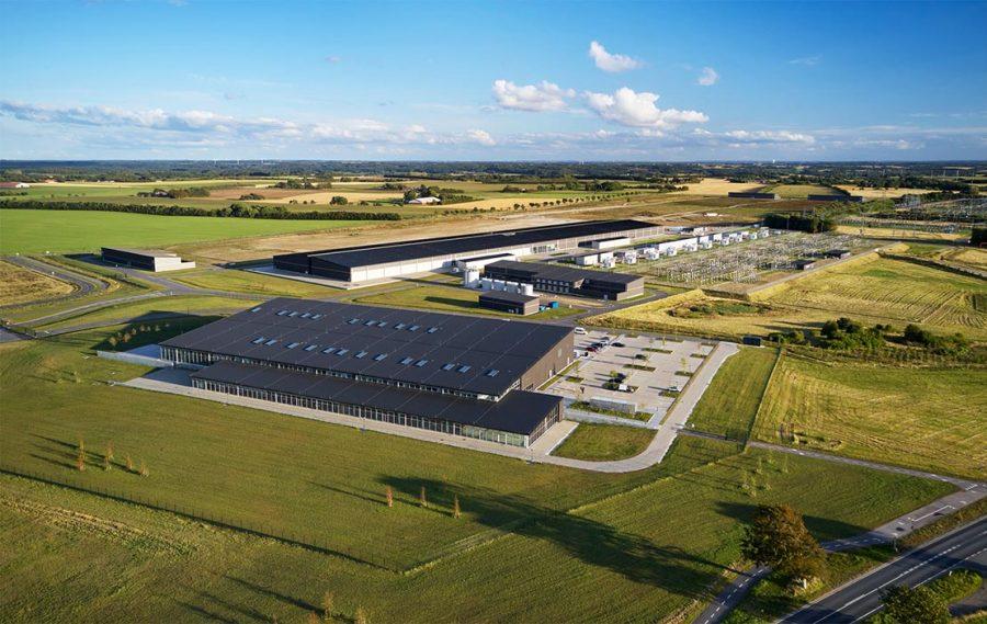Como todos os data centers da Apple, o de Viborg funciona com 100% de energia renovável.