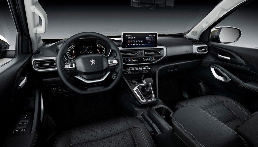 Interior da Peugeot Landtrek
