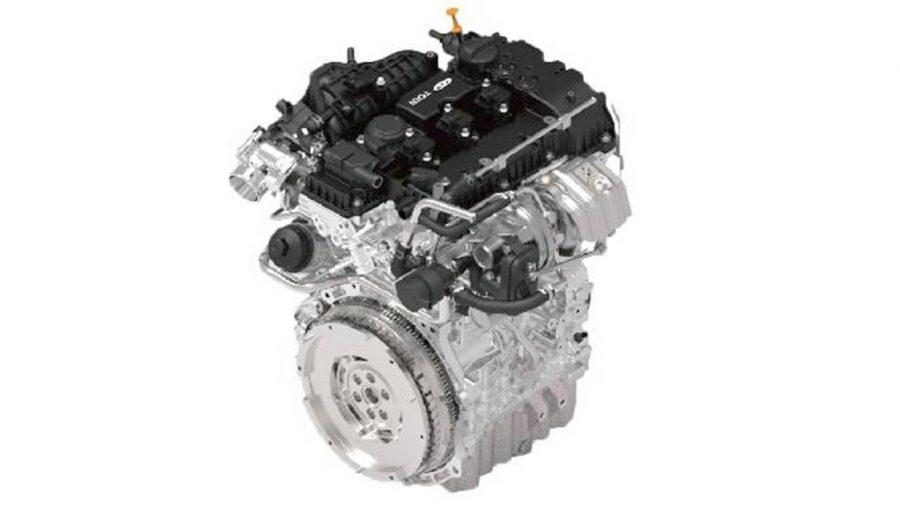 Motor 1.2 de três cilindros com turbo e injeção direta é a base para o motor 1.0 turbo flex Acteco/Divulgação