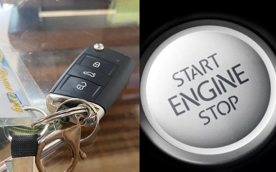 O que acontece se você jogar a chave presencial pela janela?