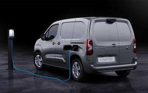 e-Partner, a van compacta comercial 100% elétrica da Peugeot