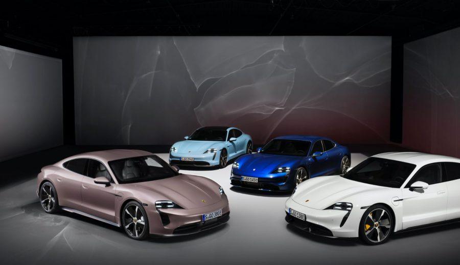 Taycan, Taycan 4S, Taycan Turbo, Taycan Turbo S, 2021, Porsche AG