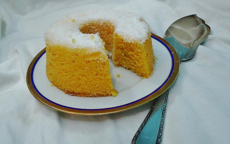 A história e a receita do bolo de milho