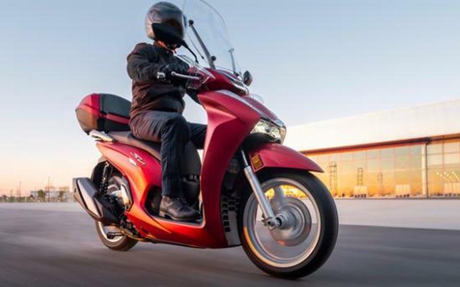 Nova scooter da Honda é revelada; SH350i está ainda mais potente e tecnológica