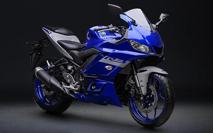 Confira o visual da Yamaha YZF-R3 ABS