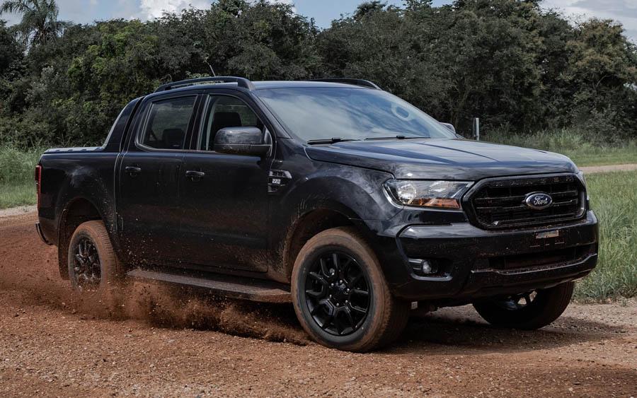 Nova Ford Ranger Black chega com exclusividade para o mercado brasileiro