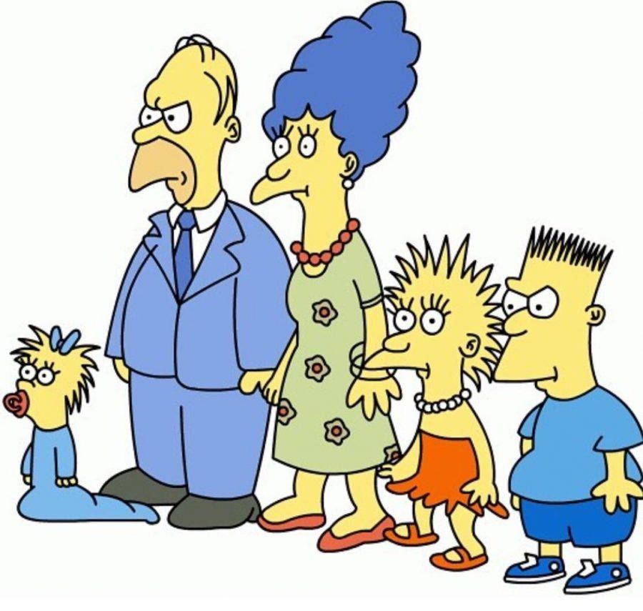 O desenho foi criado e desenvolvido por Matt Groening