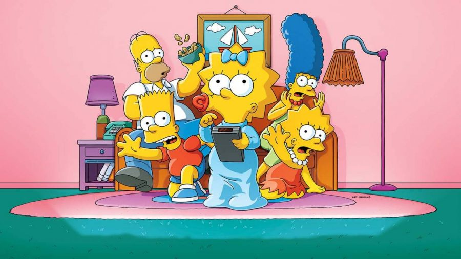The Simpsons usam a configuração padrão de uma sitcom, centrada em uma família de classe média e sua vida em uma cidade norte-americana típica.