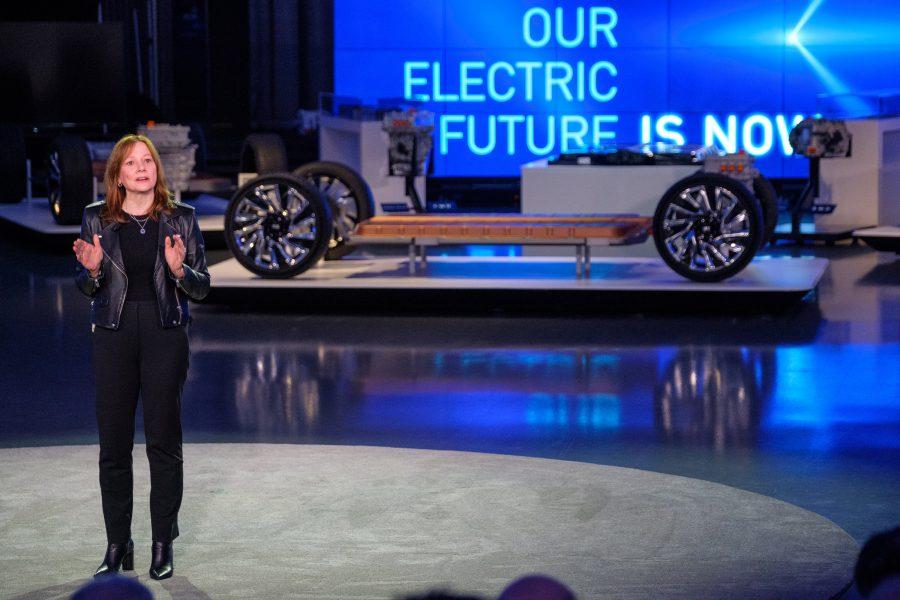 A GM planeja se tornar neutra em carbono em seus produtos e operações globais até 2040 e se comprometeu a estabelecer metas baseadas na ciência para alcançar a neutralidade de carbono. (Foto de Steve Fecht para a General Motors)