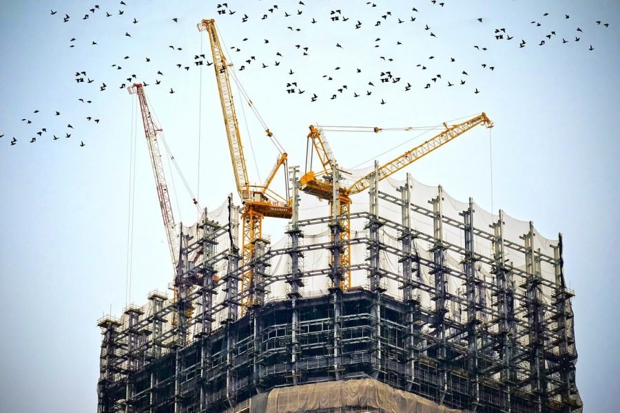O concreto é responsável por 8% da pegada de carbono mundial