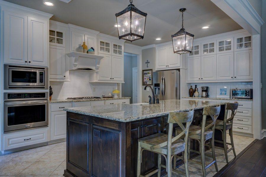Se você é do estilo de conceito aberto, pode contar com a cozinha que você não irá se arrepender.