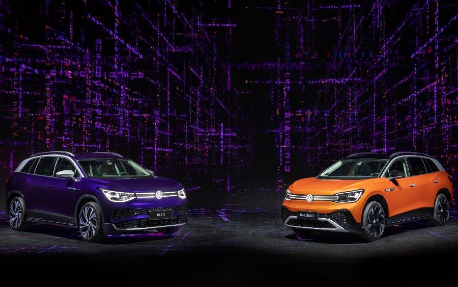 SUV familiar totalmente elétrico é apresentado na Auto Shanghai 2021