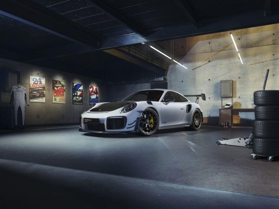 Porsche 911 GT2 RS (Geração 991) com kit performance Manthey