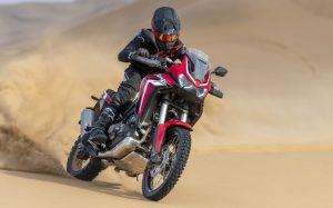 A nova geração da aventureira Honda CRF 1100L Africa Twin