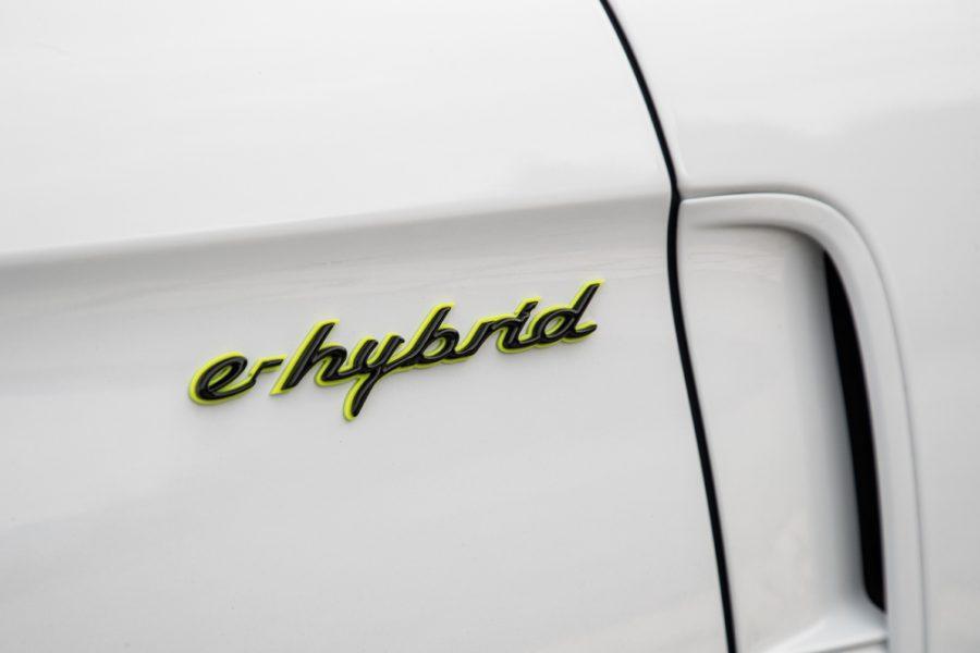 Panamera Turbo S E-Hybrid - Carrara White Metallic