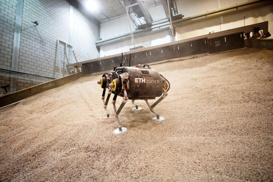 Como você faz um robô andar em Marte? É um grande desafio