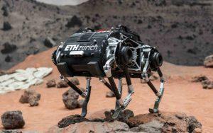 SpaceBok, o desafio de fazer um robô andar em Marte