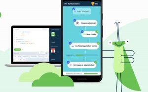 Grasshopper é um app do Google que ensina programação para iniciantes