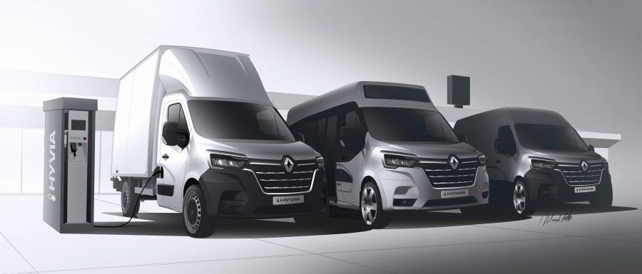 Com base nas forças e competências de dois líderes, o Renault Group e a Plug Power, a HYVIA está presente na França com quatro unidades. Até o final de 2021, a empresa montará na fábrica de Flins as células de combustível e postos de recarga de hidrogênio que serão oferecidos em toda a Europa.
