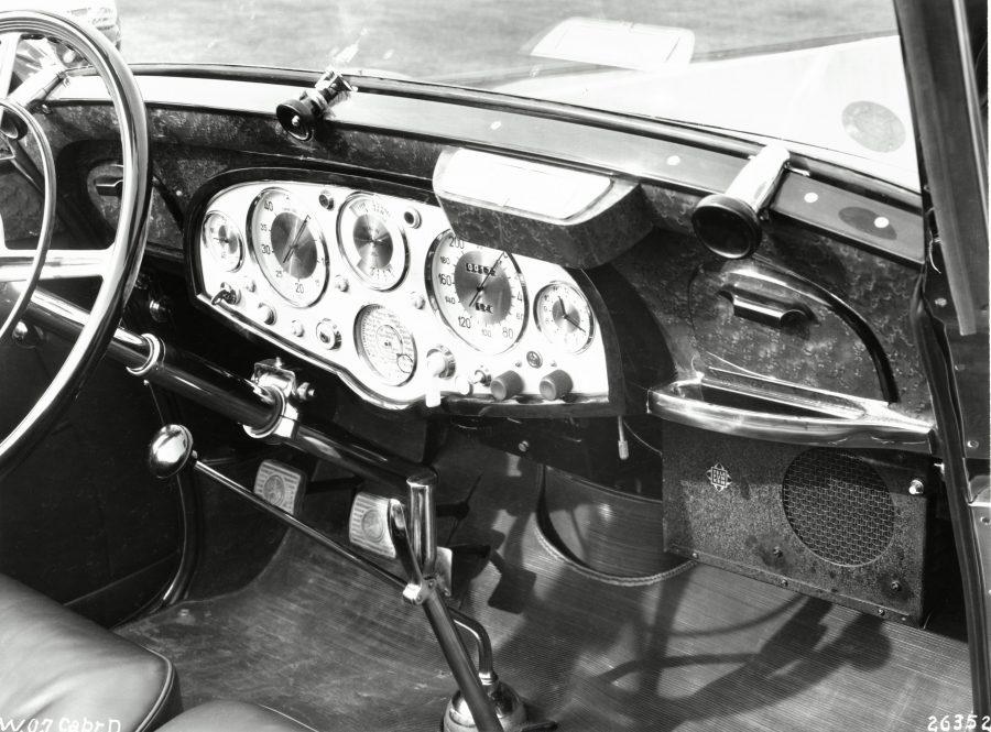 Mercedes-Benz 770Großer Mercedes Cabriolet D (W 07) aus dem Jahr 1937