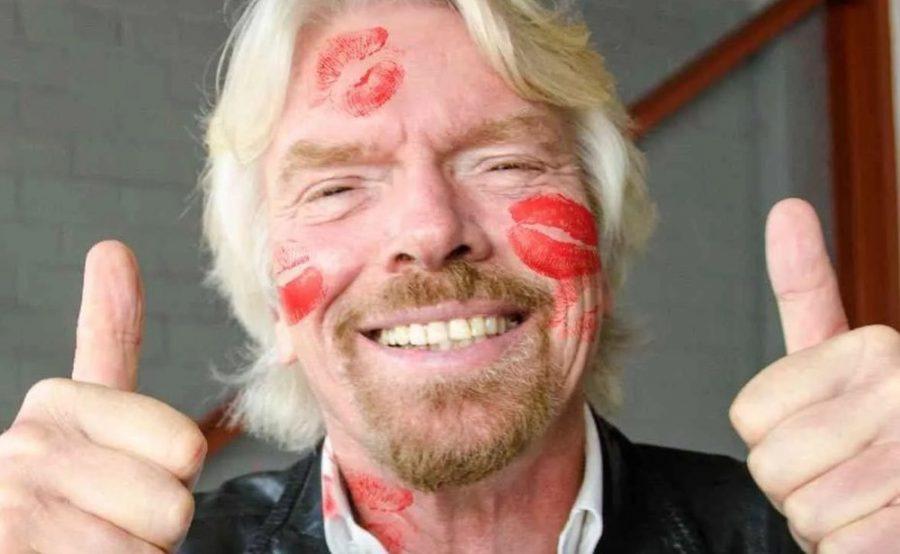 O bilionário britânico Richard Branson — Foto: Reprodução/Twitter/Richard Branson