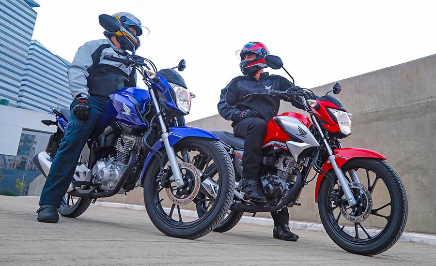 Honda CG 160 2022: em comemoração aos 45 anos de produção, a motocicleta nº 1 do Brasil ganha novo design e preserva o conjunto mecânico consagrado.