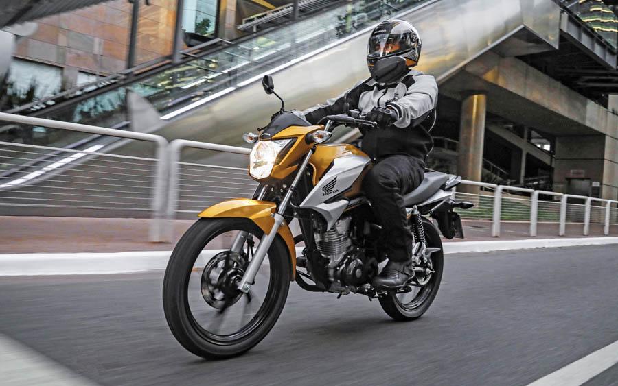 O novo visual da Honda CG 160 2022