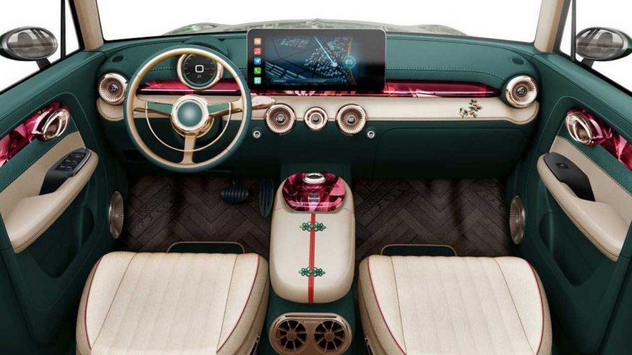 Ideia de como deve ser o interior do veículo